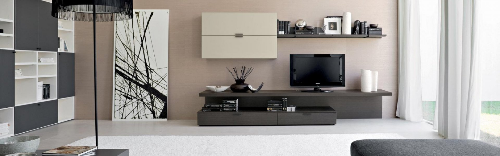Un salon moderne